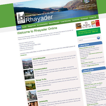 Rhayader online directory