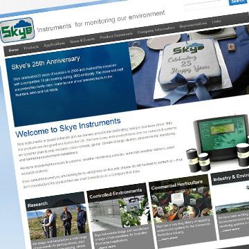 Skye Instruments website