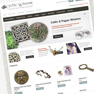 Celtic Wisdom website