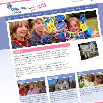 Girlguiding Cymru website