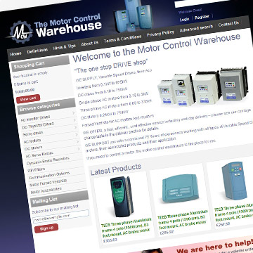 MCW e-commerce website