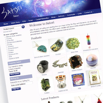 Satori e-commerce website