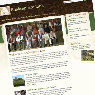 Shakespeare Link website