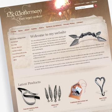 Craft e-commerce website