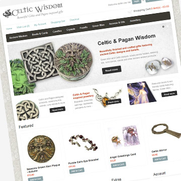 Celtic Wisdom website