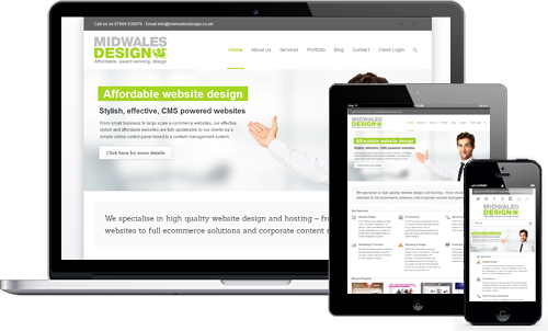 responsive website design wales