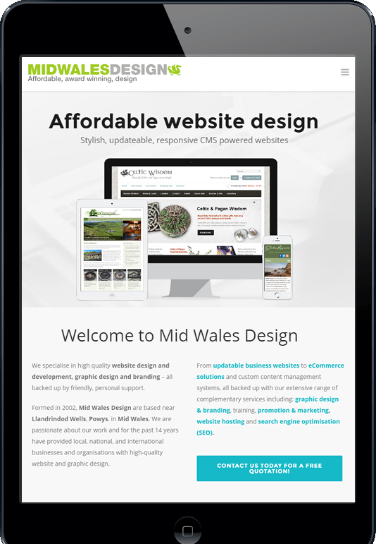 branding and logo design powys mid wales