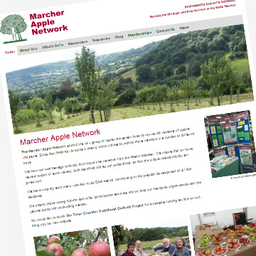 Marcher Apple Network community website
