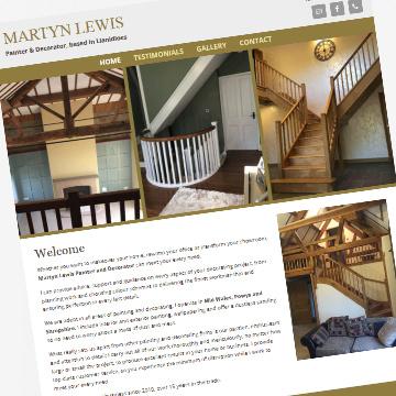 Martyn Lewis business website